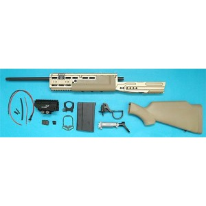 G&P Airsoft EBR MK14 Mod O Conversion Kit (Sniper Version) (Sand) - CK011