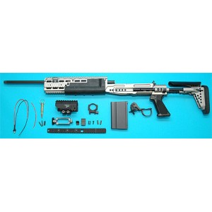 G&P Airsoft EBR MK14 Mod O Conversion Kit (L) (Navy) - CK014