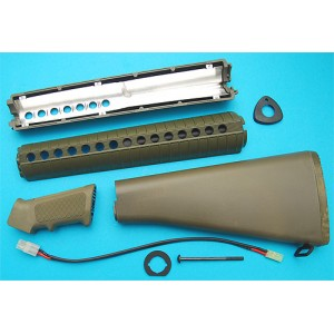 G&P Airsoft M16A2 Conversion Kit (OD) - CK046