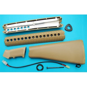G&P Airsoft M16A2 Conversion Kit (Sand) - CK047