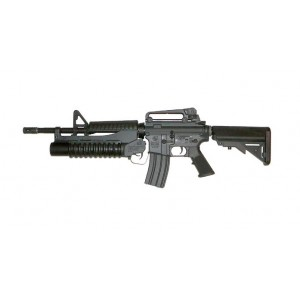 G&P Airsoft M4 Buttstock with M203 (Marine) - G&P DIY023