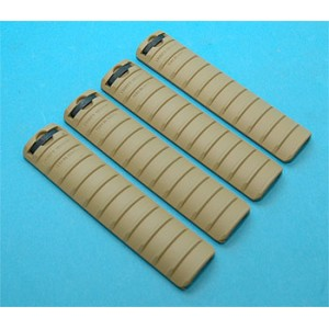 G&P Airsoft Rail Cover (Sand) - GP032S for Airsoft Gun