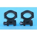 G&P Airsoft Knight's Type 30mm Mount - GP057 for Airsoft Gun