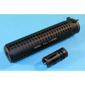 G&P Airsoft M4 QD Silencer (Anti-Clockwise) - GP076A for Airsoft Gun
