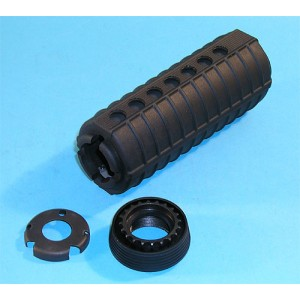G&P Airsoft M4 Handguard with Delta Ring Set (Black) - GP122 for Airsoft Gun