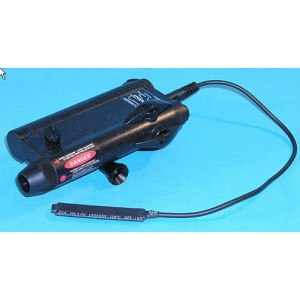 G&P Airsoft PAQ IV Laser with Pressure Switch - GP127 for Airsoft Gun