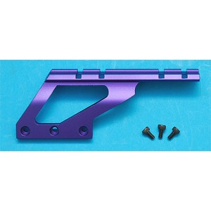 G&P Airsoft Scope Mount Base (Long)(Purple) - GP130D for Airsoft Gun
