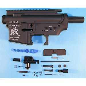 G&P Airsoft SR16 M5 Metal Body - GP179 for Airsoft Gun