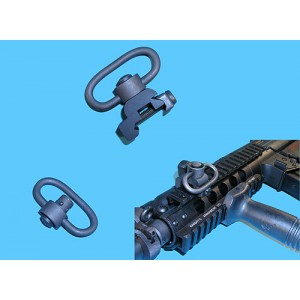 G&P Airsoft Knight's Type QD Sling Clip For RAS - GP197 for Airsoft Gun