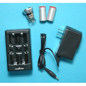 G&P Airsoft 9R Charger Set - GP242B for Airsoft Gun