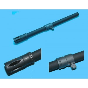 G&P Airsoft G36 Steel Barrel Front Set - GP243 for Airsoft Gun