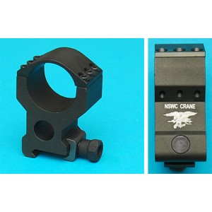 G&P Airsoft 30mm Red Dot Sight Straight Mount (NSWC) - GP248B for Airsoft Gun