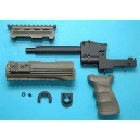G&P Airsoft AK47 Tactical Front Set with Grip (OD) - GP468B