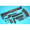 G&P Airsoft AK Tactical Conversion Kit (Extended Stock)(Black) - GP585B