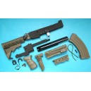 G&P Airsoft AK Tactical Conversion Kit (Extended Stock)(OD) - GP585O