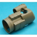 G&P Airsoft Military Type 30mm Red Dot Sight Cover (Sand) - GP607S for Airsoft Gun