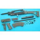 G&P Airsoft AK Special Forces 100M Conversion Kit (Folding Stock)(OD) - GP687O