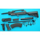 G&P Airsoft AK Special Forces 100M Conversion Kit (Extended Stock)(Black) - GP716B
