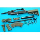 G&P Airsoft AK Special Forces 100M Conversion Kit (Extended Stock)(OD) - GP716O