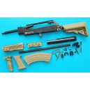 G&P Airsoft AK Special Forces 100M Conversion Kit (Extended Stock)(Sand) - GP716S