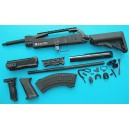 G&P Airsoft AK Skull Conversion Kit (Extended Stock)(Black) - GP717B