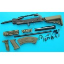 G&P Airsoft AK Skull Conversion Kit (Extended Stock)(OD) - GP717O