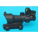 G&P Airsoft OP Type Red Dot with TA01 4x32 Scope - GP885 for Airsoft Gun