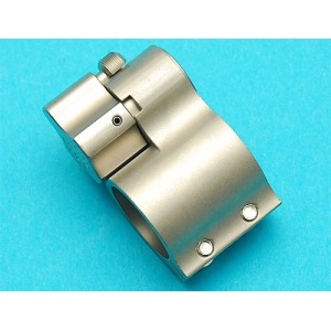 G&P Airsoft Switch Gas Block (Silver) - GP-OTH004S for Airsoft Gun