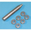 G&P Airsoft High Steel Oil Groove Bushing For Custom Gear Only - SP009