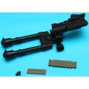 G&P Reinforced Bipod (M) with DMR Rail (Sand) - GP-OTH019M Airsoft