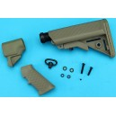 G&P M870 Pistol Grip with Buttstock Set B (Sand) GP-SHP002S for Airsoft AEG Parts